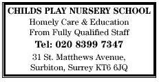 childs play nursery school - homely care & Education
