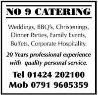 Catering for weddings, BBQ's, christenings, dinner parties, family events, buffets, corporate