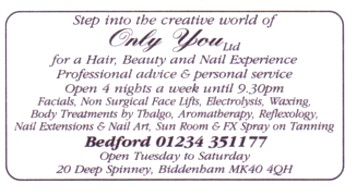 hair, beauty and nail experience