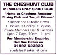 Members only sports club - indoor and outdoor bowls - cricket - hockey - squash